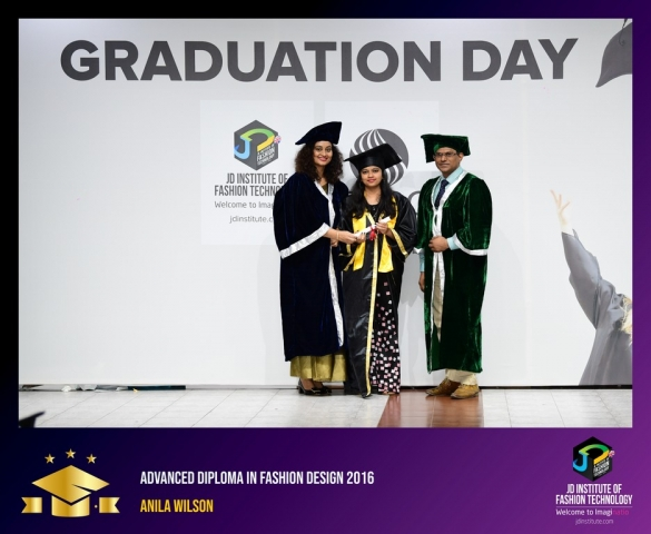 jd institute - Advance Diploma In Fashion Design 2 - JD Institute Holds Graduation Ceremony for its Diploma and Post Graduate Students