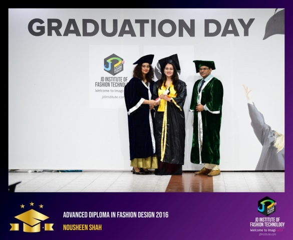 jd institute - Advance Diploma In Fashion Design 5 - JD Institute Holds Graduation Ceremony for its Diploma and Post Graduate Students