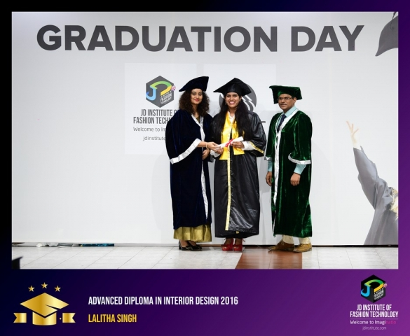 jd institute - Advance Diploma In Interior Design 1 - JD Institute Holds Graduation Ceremony for its Diploma and Post Graduate Students