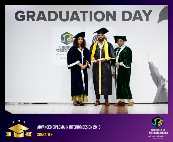 jd institute - Advance Diploma In Interior Design 7 - JD Institute Holds Graduation Ceremony for its Diploma and Post Graduate Students