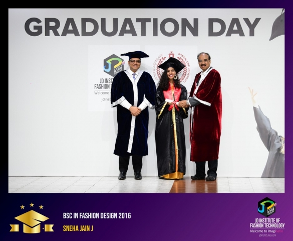 jd institute - BSc - GET SET GO- JD INSTITUTE MARKS ACHIEVEMENTS OF ITS BSC STUDENTS THROUGH GRADUATION CEREMONY
