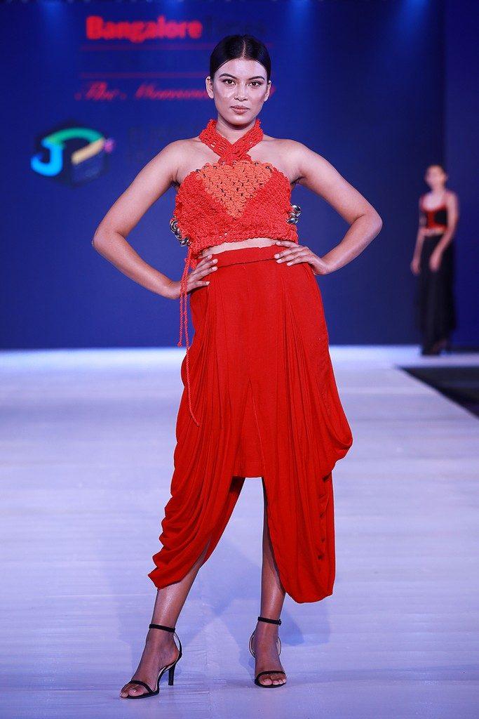 bangalore times fashion week 2019 - BTFW 2019 13 683x1024 - SPLASH BY JEDIIANS AT  BANGALORE TIMES FASHION WEEK 2019 – MONSOON EDIT