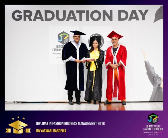 jd institute - Diploma In Fashion Business Management 1 - JD Institute Holds Graduation Ceremony for its Diploma and Post Graduate Students