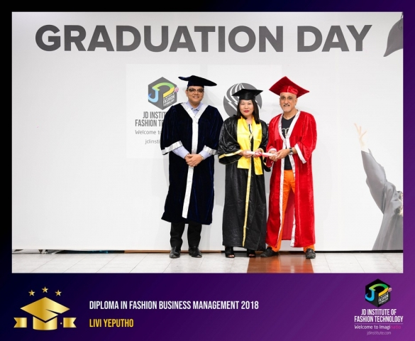 jd institute - Diploma In Fashion Business Management 2 - JD Institute Holds Graduation Ceremony for its Diploma and Post Graduate Students