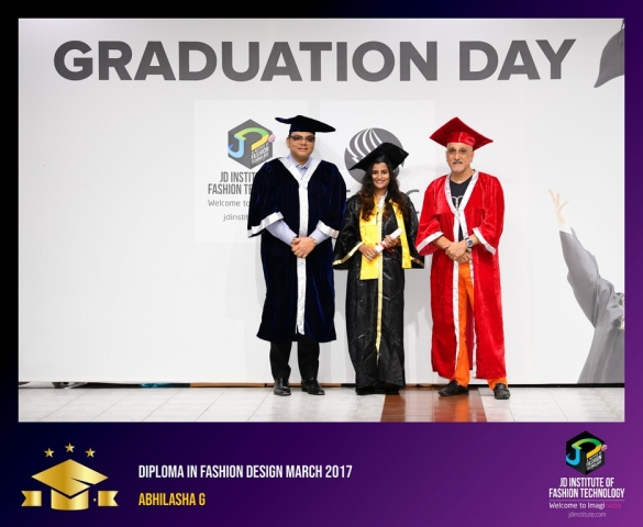 jd institute - Diploma In Fashion Design 1 - JD Institute Holds Graduation Ceremony for its Diploma and Post Graduate Students