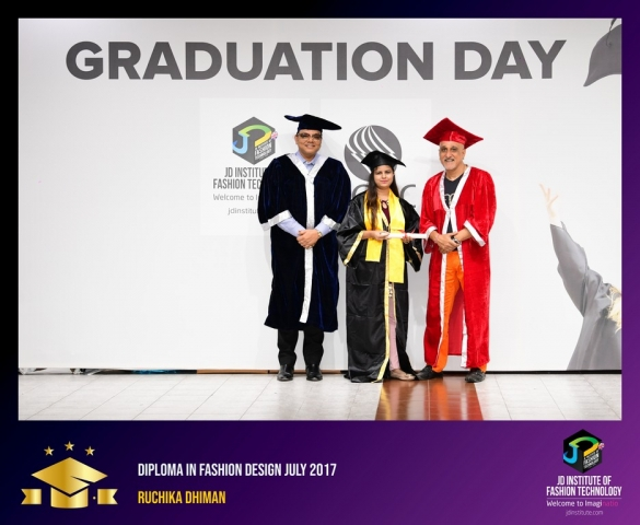 jd institute - Diploma In Fashion Design 16 - JD Institute Holds Graduation Ceremony for its Diploma and Post Graduate Students