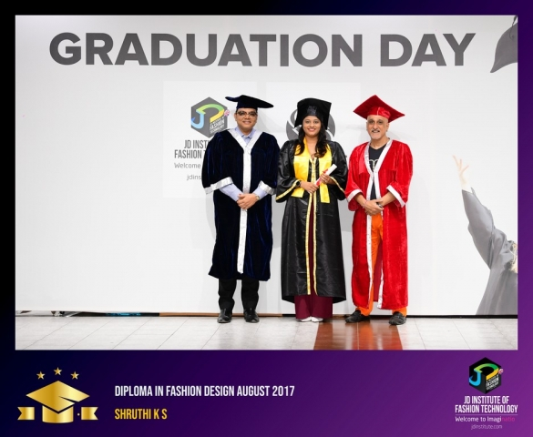 jd institute - Diploma In Fashion Design 18 - JD Institute Holds Graduation Ceremony for its Diploma and Post Graduate Students