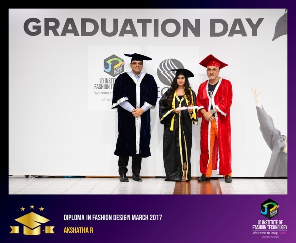 jd institute - Diploma In Fashion Design 2 - JD Institute Holds Graduation Ceremony for its Diploma and Post Graduate Students