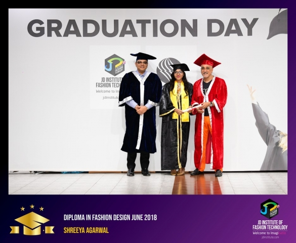 jd institute - Diploma In Fashion Design 24 - JD Institute Holds Graduation Ceremony for its Diploma and Post Graduate Students