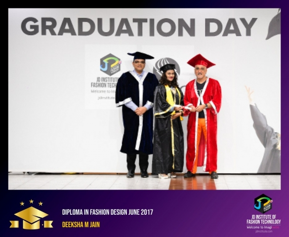jd institute - Diploma In Fashion Design 5 - JD Institute Holds Graduation Ceremony for its Diploma and Post Graduate Students