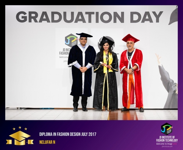 jd institute - Diploma In Fashion Design 9 - JD Institute Holds Graduation Ceremony for its Diploma and Post Graduate Students