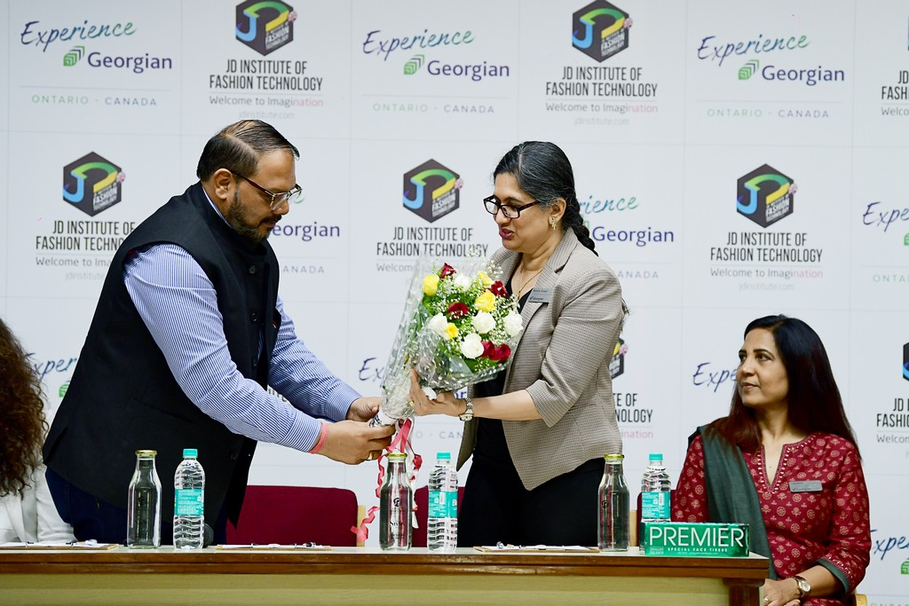 jd institute of fashion technology - JD INSTITUTE OF FASHION TECHNOLOGY COLLABORATES WITH GEORGIAN COLLEGE 1 - JD INSTITUTE OF FASHION TECHNOLOGY COLLABORATES WITH GEORGIAN COLLEGE, CANADA
