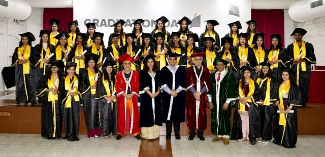 jd institute - JD Institute Holds Graduation Ceremony 2 - JD Institute Holds Graduation Ceremony for its Diploma and Post Graduate Students