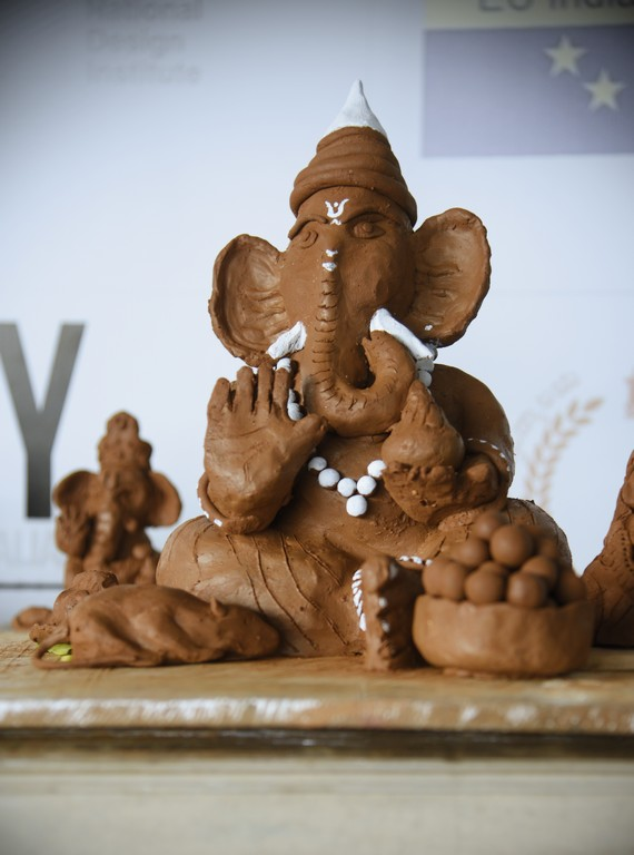 Jediiians Go Green this Ganesh Chaturthi jediiians - Jediiians Go Green this Ganesh Chaturthi 10 - Jediiians Go Green this Ganesh Chaturthi: Clay Workshop at JD Institute