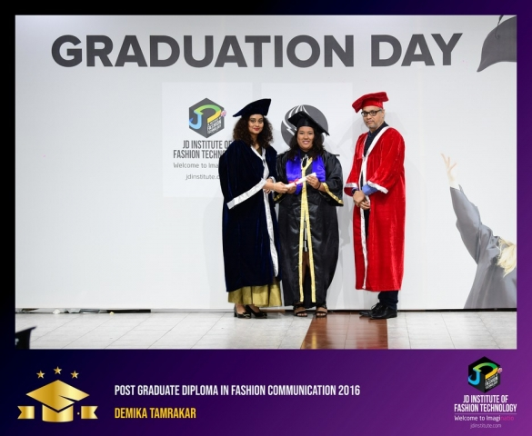jd institute - Post Graduate Diploma In Fashion Communication 1 - JD Institute Holds Graduation Ceremony for its Diploma and Post Graduate Students