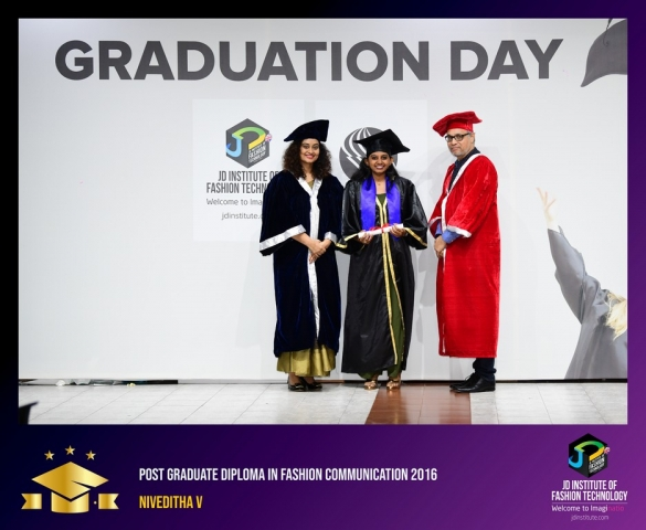 jd institute - Post Graduate Diploma In Fashion Communication 2 - JD Institute Holds Graduation Ceremony for its Diploma and Post Graduate Students