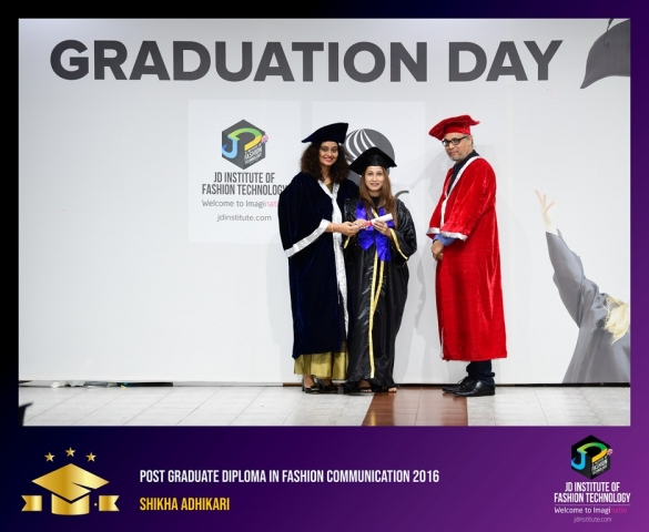 jd institute - Post Graduate Diploma In Fashion Communication 5 - JD Institute Holds Graduation Ceremony for its Diploma and Post Graduate Students