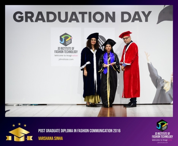 jd institute - Post Graduate Diploma In Fashion Communication 7 - JD Institute Holds Graduation Ceremony for its Diploma and Post Graduate Students