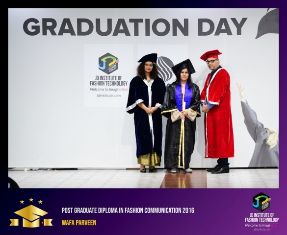 jd institute - Post Graduate Diploma In Fashion Communication 8 - JD Institute Holds Graduation Ceremony for its Diploma and Post Graduate Students