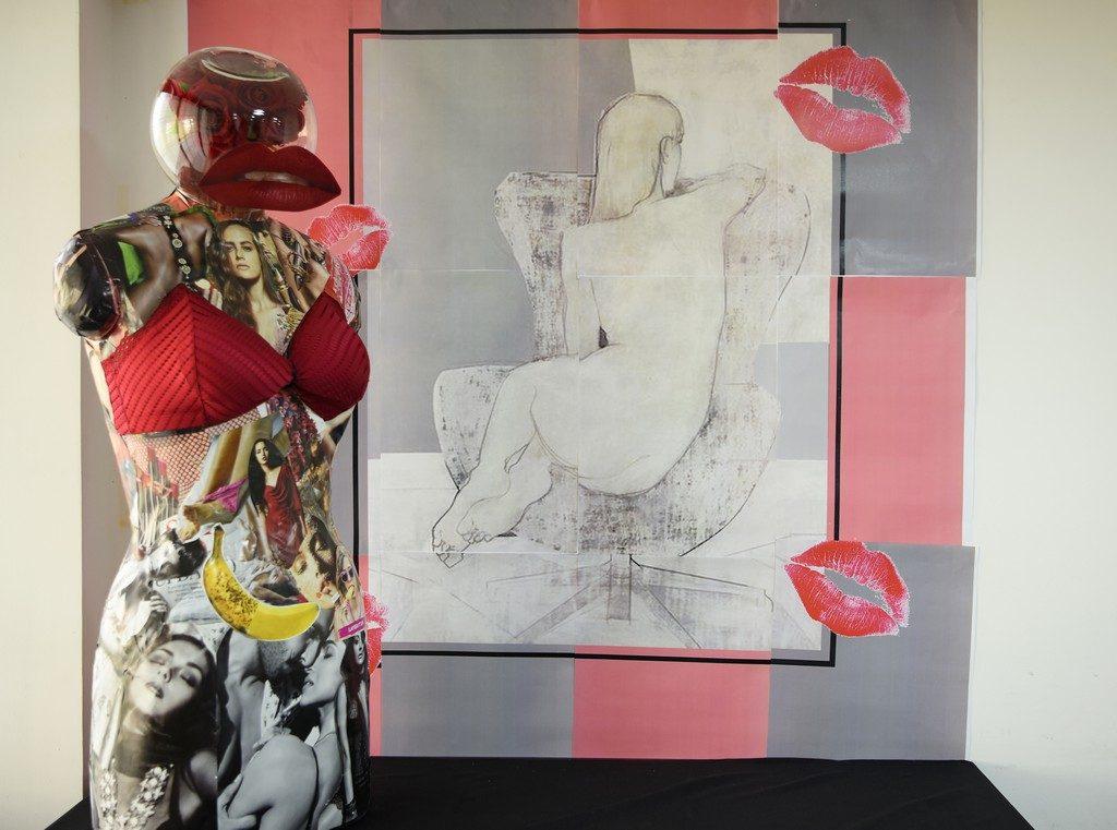 mannequin styling fashion - REFURBISH 5 3 1024x761 - REFURBISH | Mannequein Styling Display by Fashion Communication students