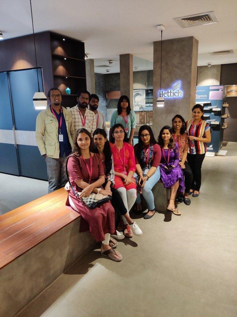 educational survey - hettich 1 - Educational Survey at Hettich India Pvt. Ltd | Interior Department
