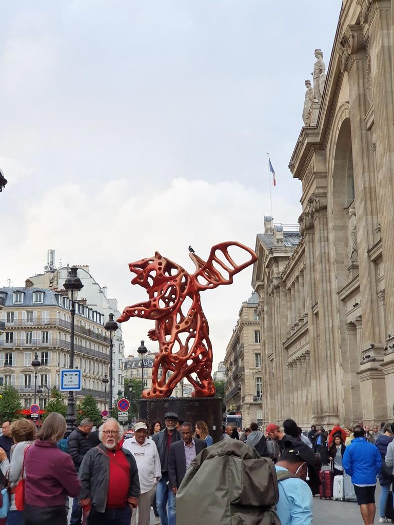 jd imagination journey - Art Installations on streets in London - JD IMAGINATION JOURNEY LONDON-PARIS September 2019