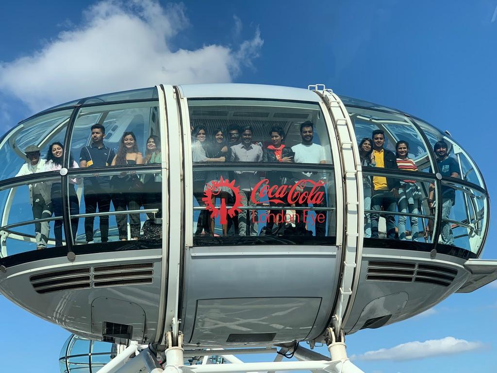 jd imagination journey - Jediiians recreation at the Iconic London Eye - JD IMAGINATION JOURNEY LONDON-PARIS September 2019