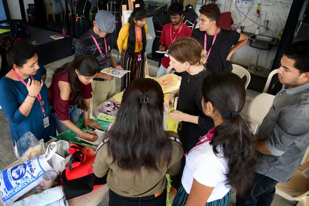 swiss artist and designer conducts workshop for jd students - SWISS ARTIST AND DESIGNER CONDUCTS WORKSHOP FOR JD STUDENTS 6 1024x683 - SWISS ARTIST AND DESIGNER CONDUCTS WORKSHOP FOR JD STUDENTS