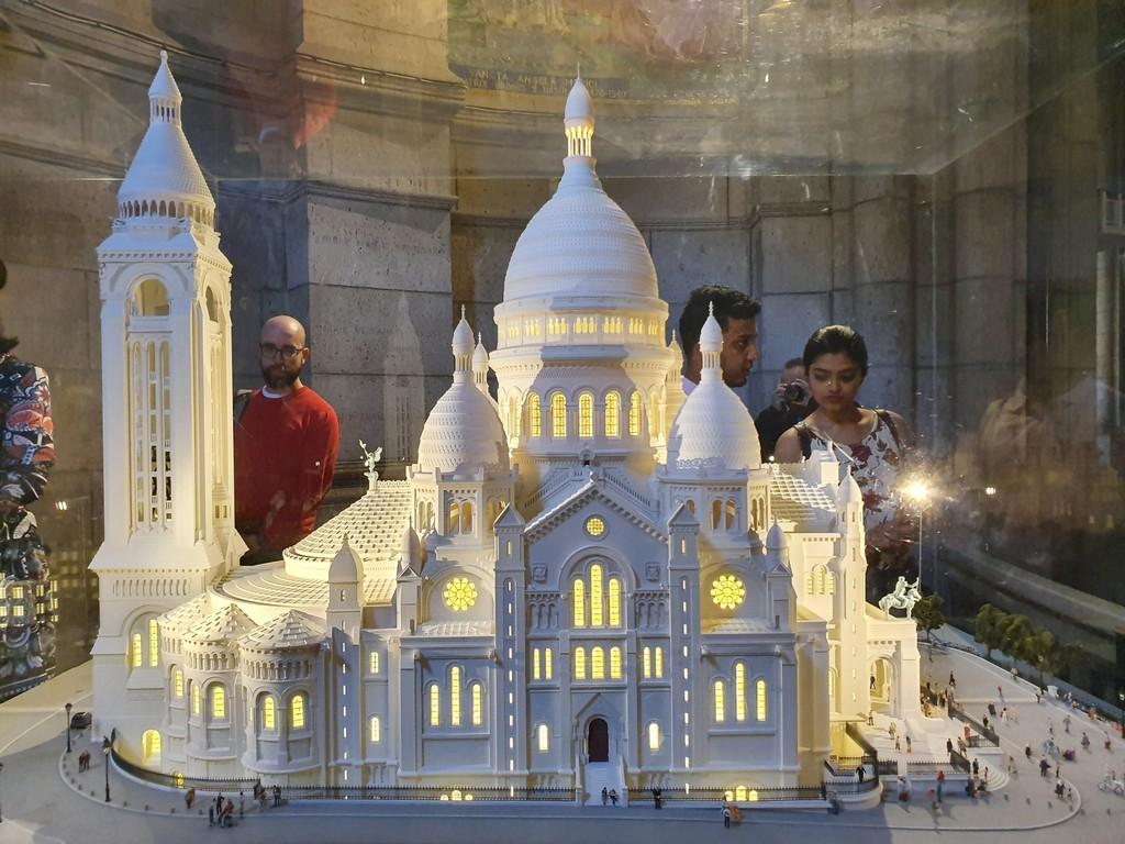 jd imagination journey - Sacred Coer Paris Miniature - JD IMAGINATION JOURNEY LONDON-PARIS September 2019