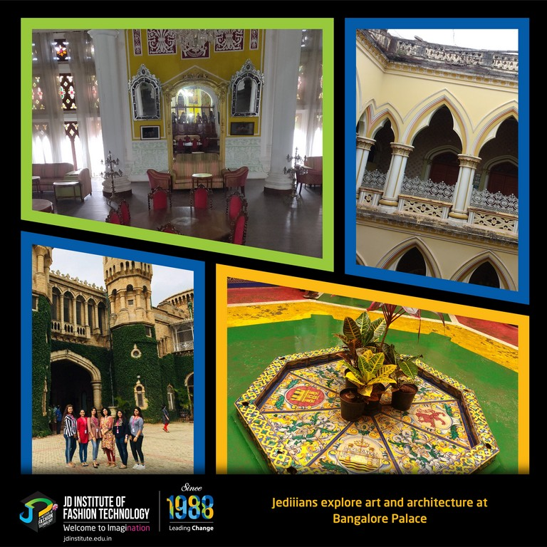 revelling in glorious historical art and architecture through a visit to bangalore palace - FB PC Student Visit of Bangalore Visit - REVELLING IN GLORIOUS HISTORICAL ART AND ARCHITECTURE THROUGH A VISIT TO BANGALORE PALACE
