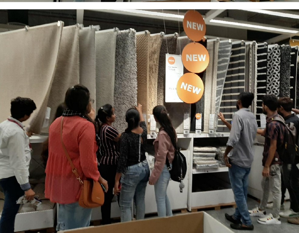 ikea - INDUSTRIAL VISIT FOR INTERIOR DESIGN STUDENTS AT IKEA 13 - INDUSTRIAL VISIT FOR INTERIOR DESIGN STUDENTS AT IKEA