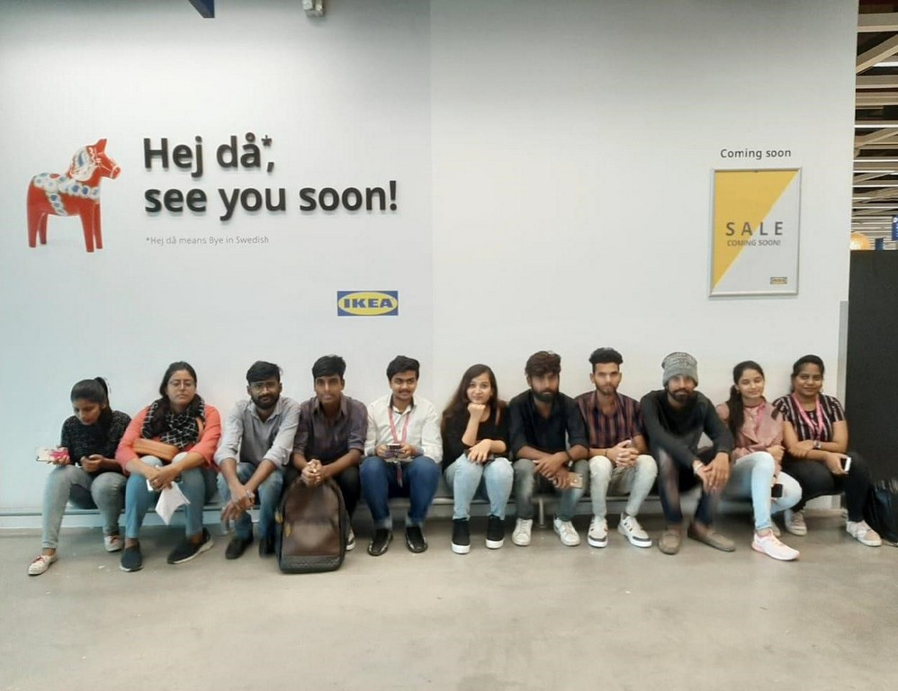 ikea - INDUSTRIAL VISIT FOR INTERIOR DESIGN STUDENTS AT IKEA 16 - INDUSTRIAL VISIT FOR INTERIOR DESIGN STUDENTS AT IKEA