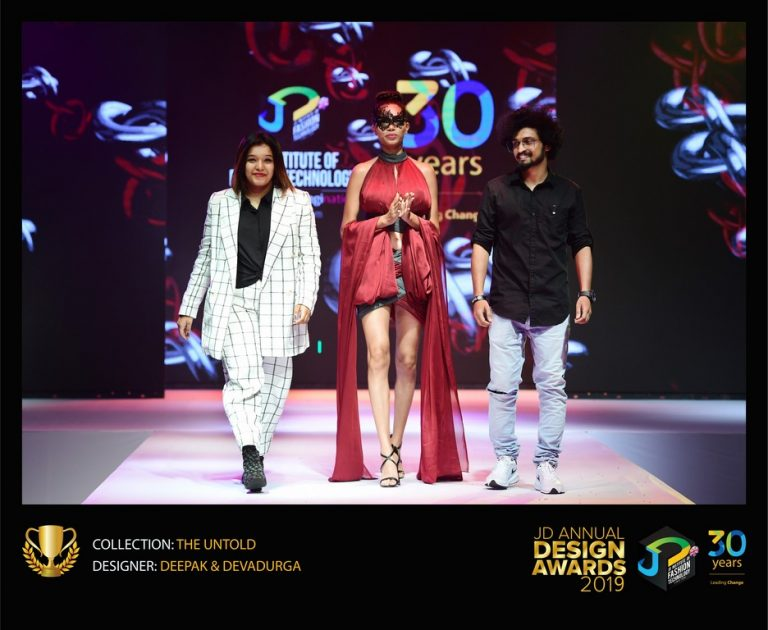 - THE UNTOLD   JD Annual Design Awards 2019 Fashion Design 11 768x630 - JD Annual Design Awards 2018