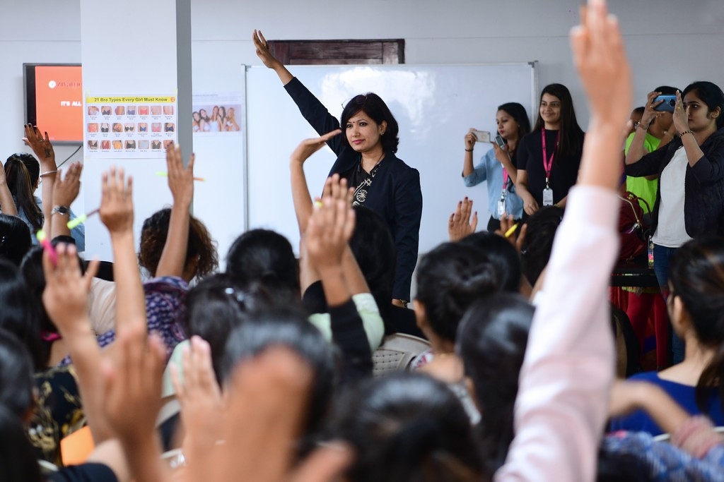 zivame - ZIVAME 2 - ZIVAME CONDUCTS A SESSION AT JD INSTITUTE OF FASHION TECHNOLOGY, BANGALORE