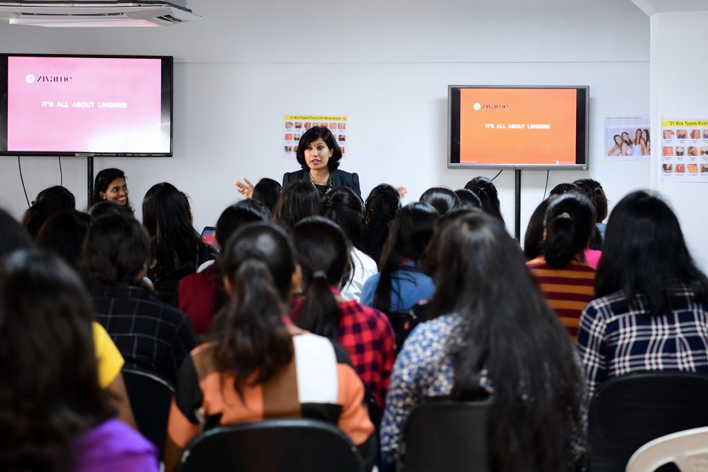 zivame - ZIVAME 3 - ZIVAME CONDUCTS A SESSION AT JD INSTITUTE OF FASHION TECHNOLOGY, BANGALORE