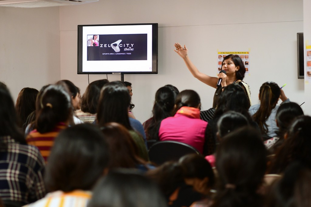 zivame - ZIVAME 7 - ZIVAME CONDUCTS A SESSION AT JD INSTITUTE OF FASHION TECHNOLOGY, BANGALORE