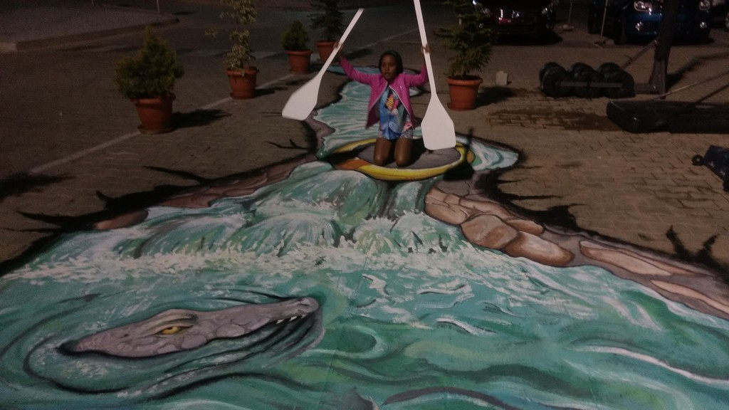 3d street art installation - 3D Street Art Installation8 - 3D Street Art Installation – Decathlon Sports Utsav