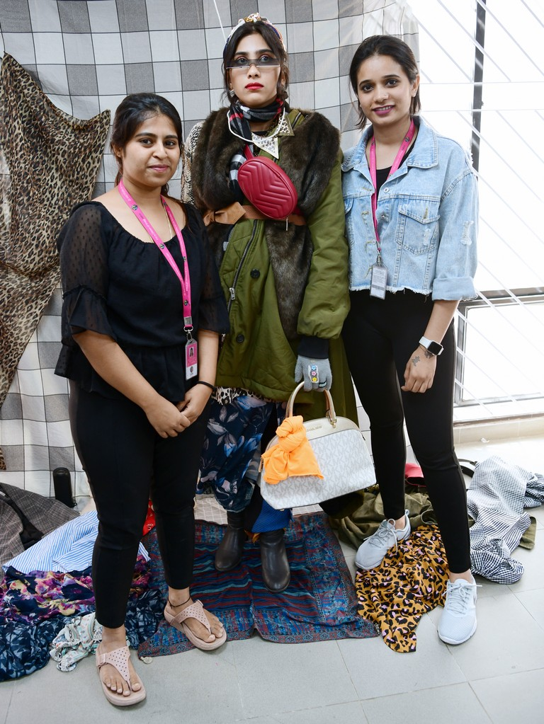 live mannequin styling - Integrated term project - LIVE MANNEQUIN STYLING BY STUDENTS OF FASHION COMMUNICATION 2018