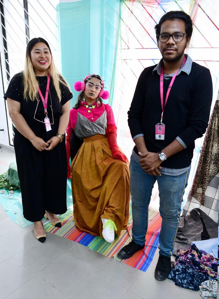 live mannequin styling - LIVE MANNEQUIN STYLING BY STUDENTS OF FASHION COMMUNICATION 2018 3 - LIVE MANNEQUIN STYLING BY STUDENTS OF FASHION COMMUNICATION 2018