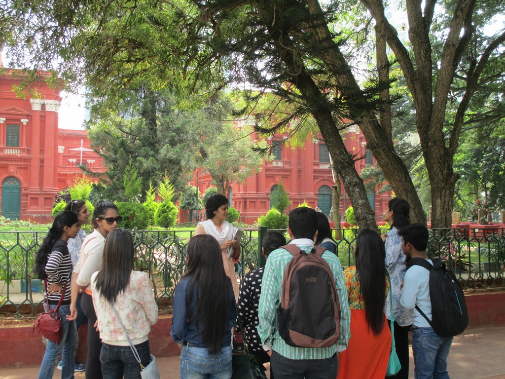 heritage walk to cubbon park - intach walk 59 - HERITAGE WALK TO CUBBON PARK & St.MARKS CATHEDRAL