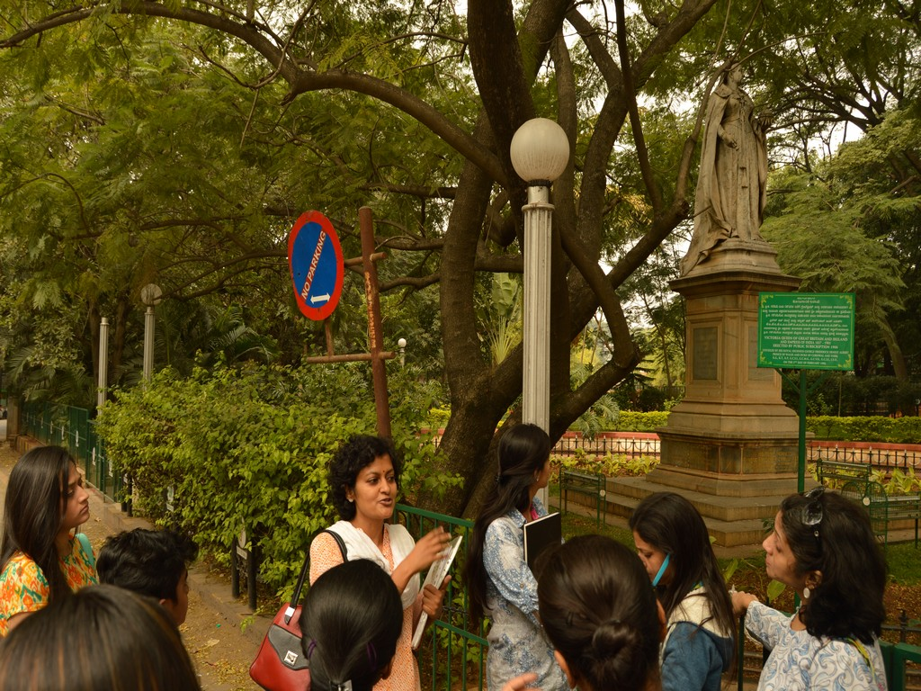 heritage walk to cubbon park - intach walk 6 - HERITAGE WALK TO CUBBON PARK & St.MARKS CATHEDRAL