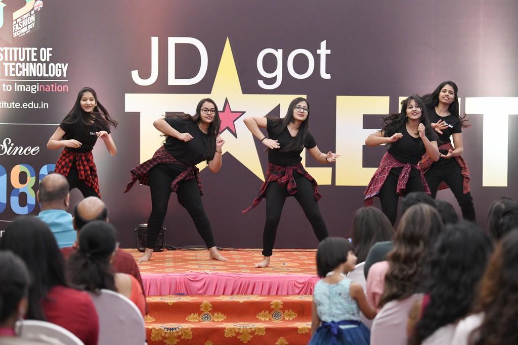 jd got talent - JD Institute Bangalore celebrated its annual cultural event     JD GOT TALENT at Pearl Banquet 49 - JEDIIIANs shimmy their way through JD GOT TALENT