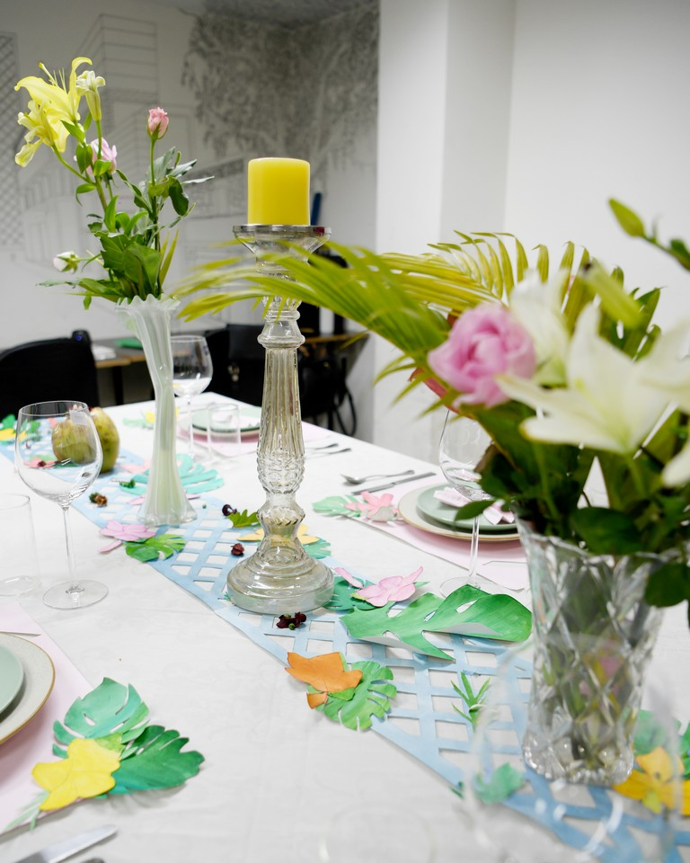dining setup - DINING SETUP OPTIONS BY INTERIOR DESIGN STUDENTS 18 - DINING SETUP OPTIONS BY INTERIOR DESIGN STUDENTS