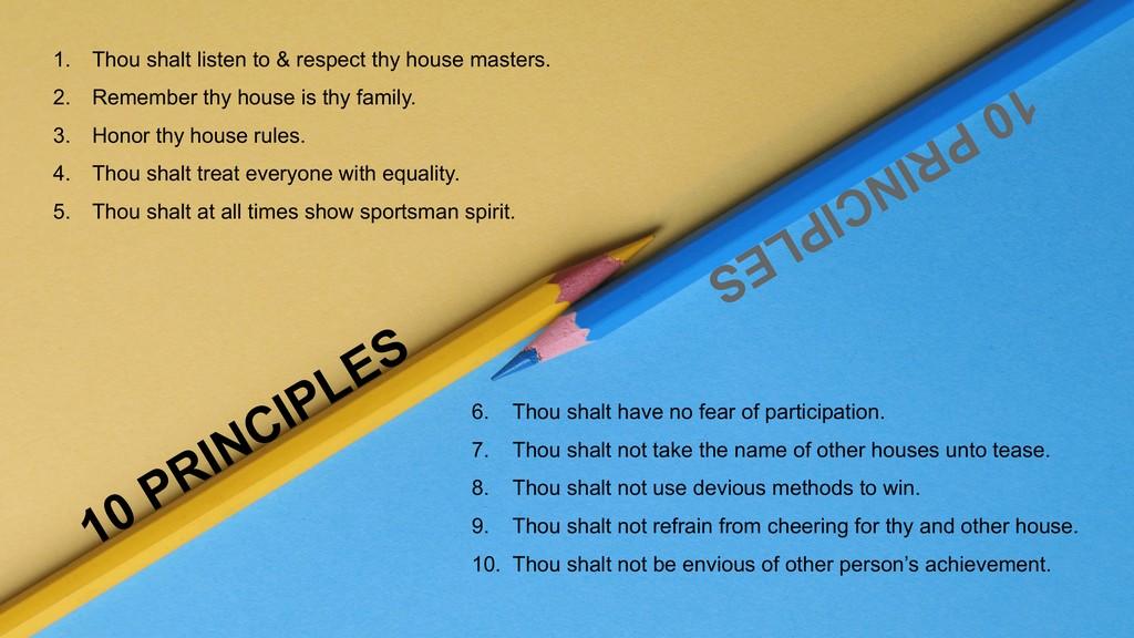 JEDIIIans WELCOME THEIR HOUSES jediiians welcome their houses - Houses Presentation 10 Principles for all houses - JEDIIIans WELCOME THEIR HOUSES