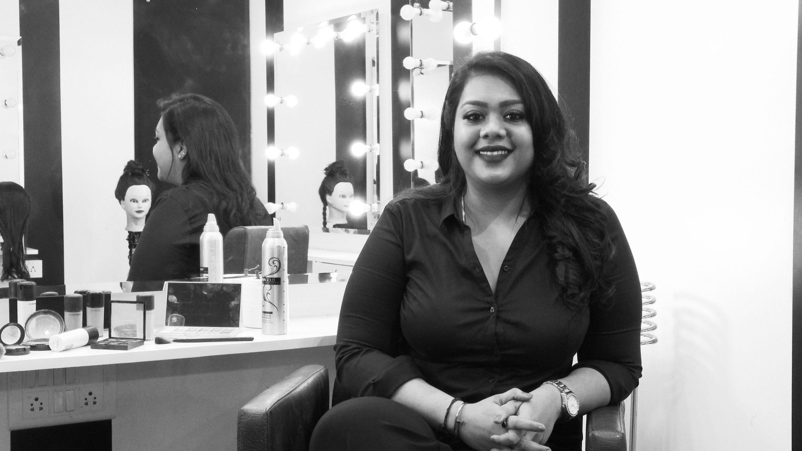 batch of 2016 - make-up artistry - Smitha Nandan scaled - Batch of 2016 – Make-up Artistry