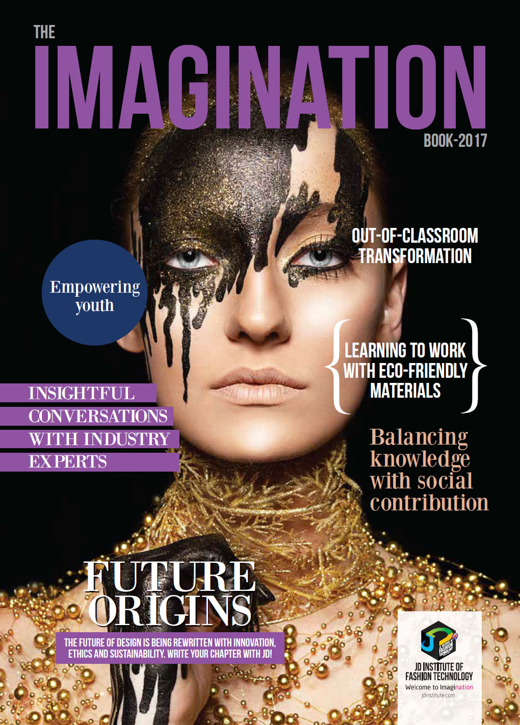 best college for fashion designing - Imagination Book 2017 Cover - Imagination Books