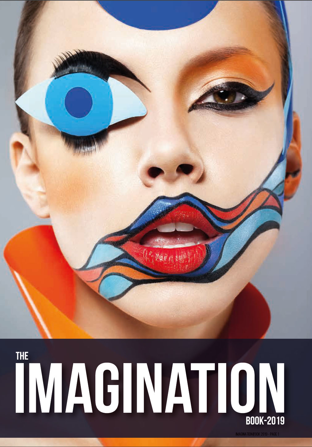 best college for fashion designing - Imagination Book 2019 Cover - Imagination Books