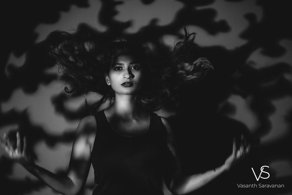 department of photography - Potrait shoot - An eminent alumnus from the Department of Photography – Vasanth Saravanan