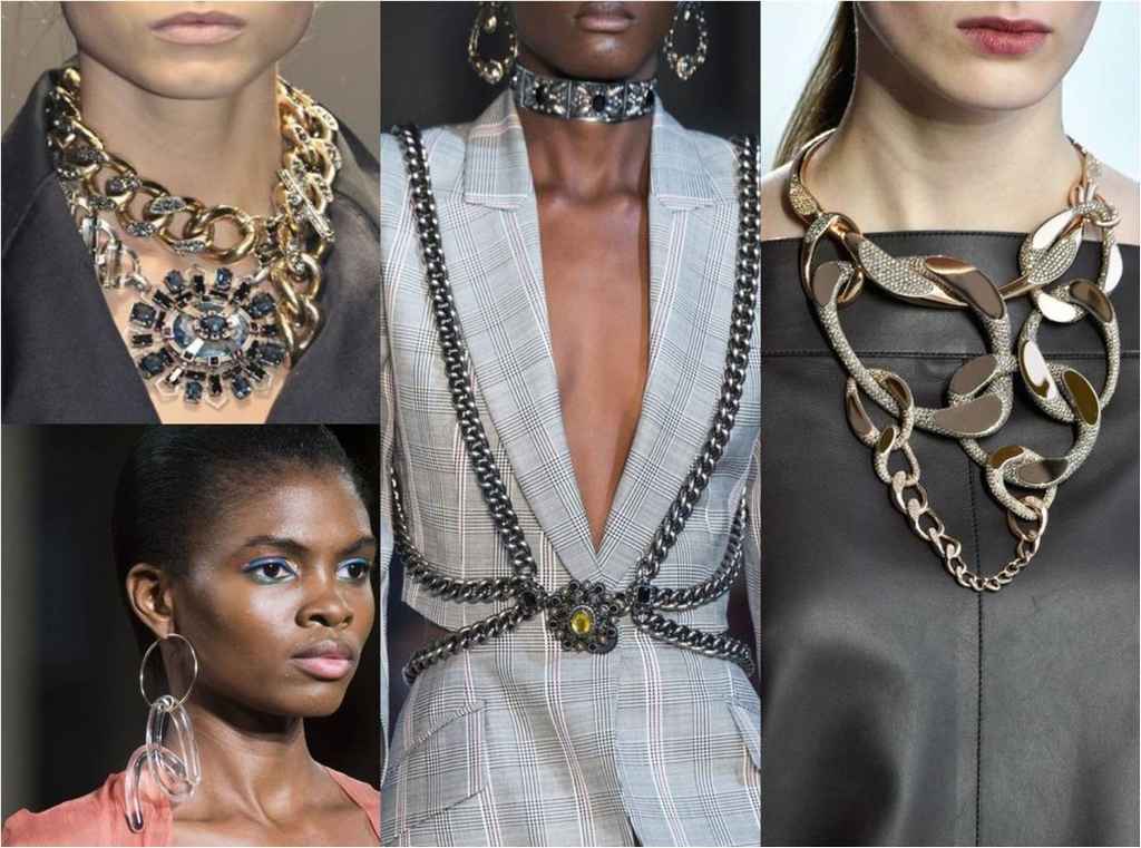 jewellery - Link Chains - A REVIEW OF SIX NEW JEWELLERY TRENDS OF SPRING/SUMMER 2020