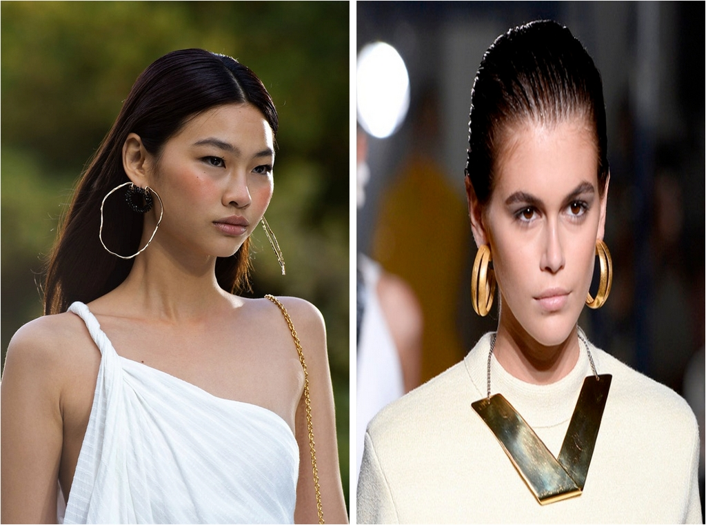 jewellery - Oversized hoop earrings - A REVIEW OF SIX NEW JEWELLERY TRENDS OF SPRING/SUMMER 2020